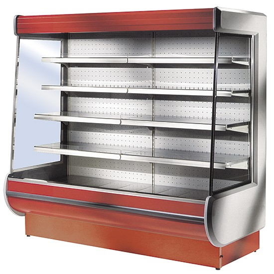 Refrigerated wall cabinet Expory for dairy products
