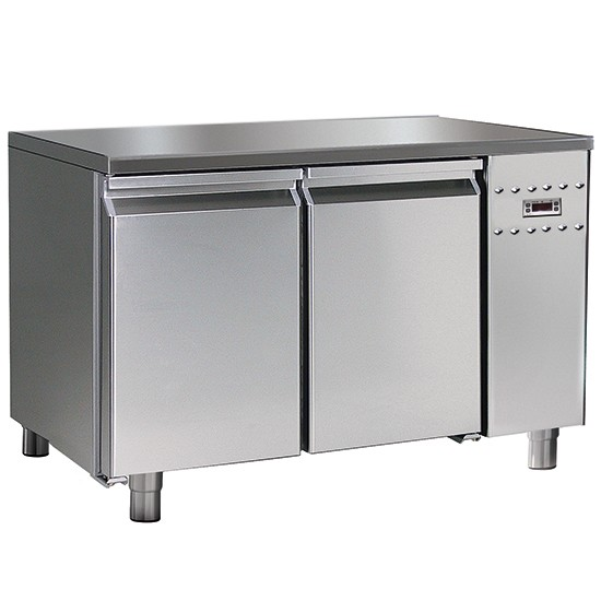 Refrigerated tables low temperature -10- 20C, 700mm depth with HACCP alarm system