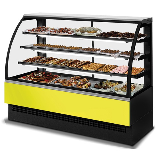 Refrigerated display unit for pastry EVO line