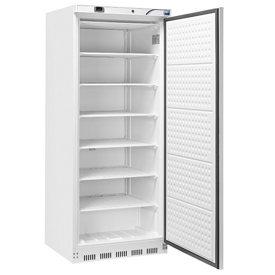 Up-right refrigerator 600 Lts. ABS white