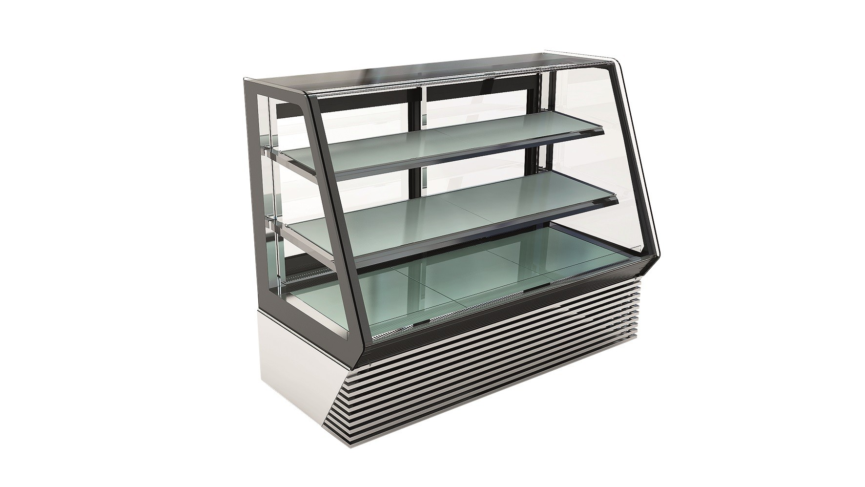 Refrigerated display unit for gastronomy / pastry