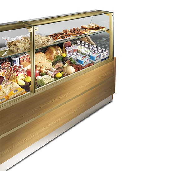 Refrigerated display unit for pastry Orleans line