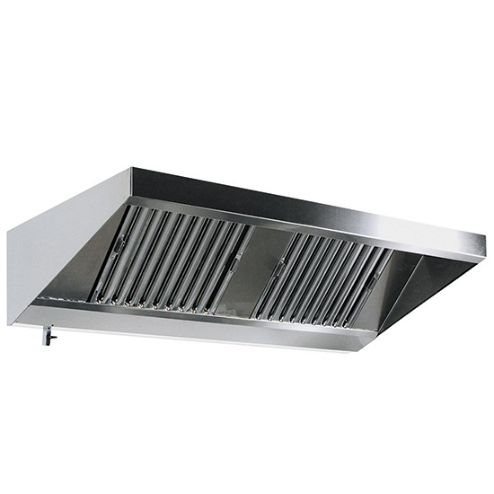 Wall mounted snack hoods 1100mm. depth