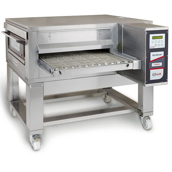 Tunnel gas pizza ovens with digital control