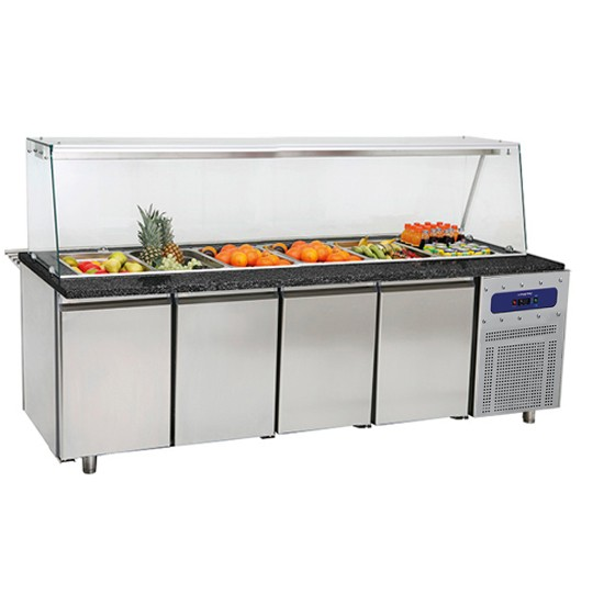 Refrigerated counters for services