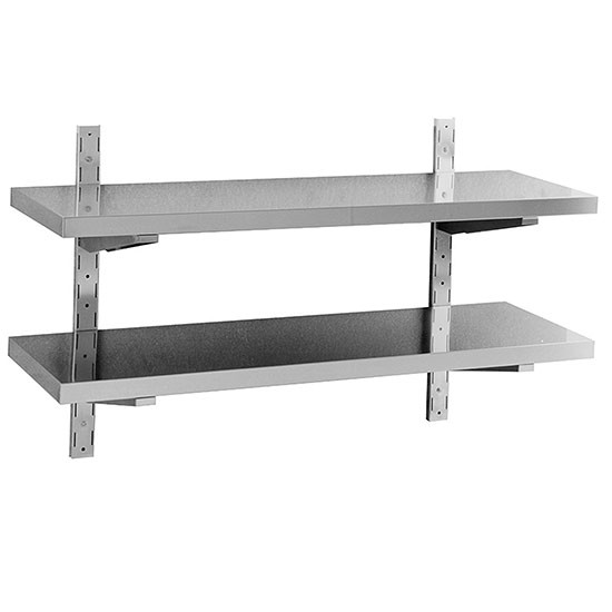 Double shelf, wall type