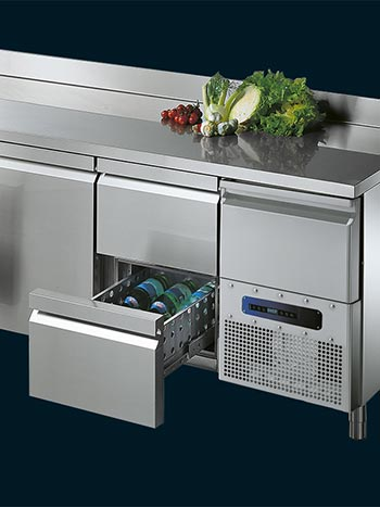 Refrigerated Counters GN1|1
