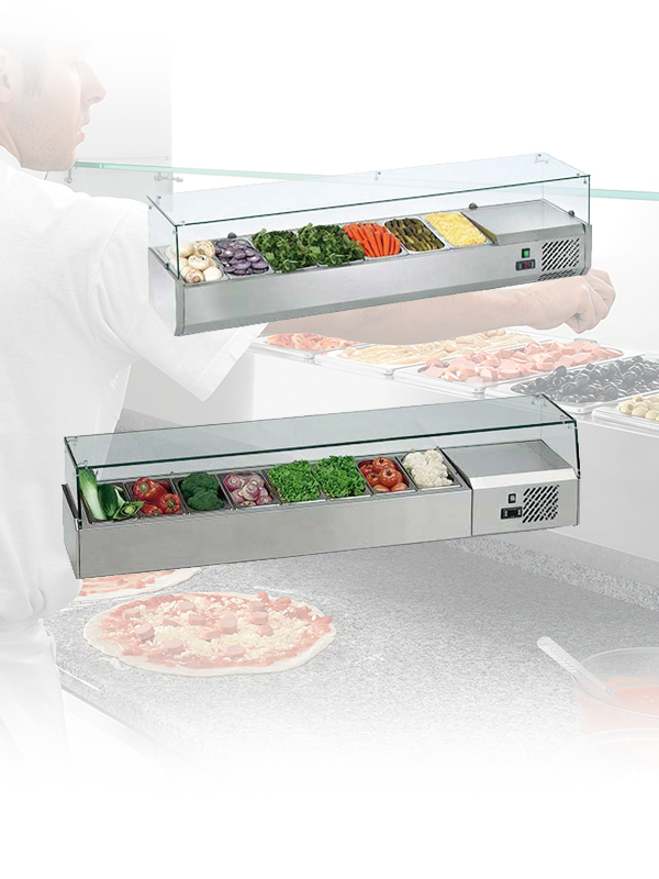 Refrigerated top displays